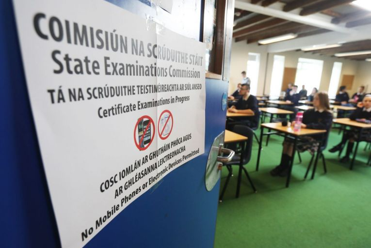 This year's Leaving Cert students were the first ever not to sit their exams in halls and classrooms but to have their results based on predicted grades