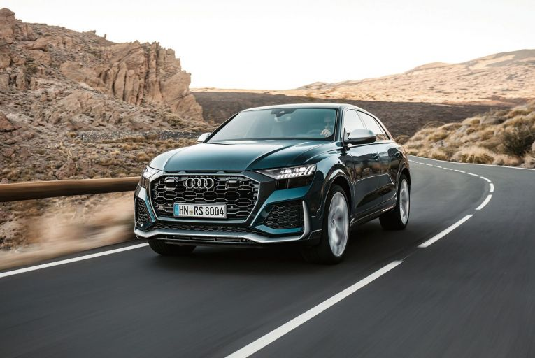 Audi's new twin-turbo petrol RS Q8 is built to excel