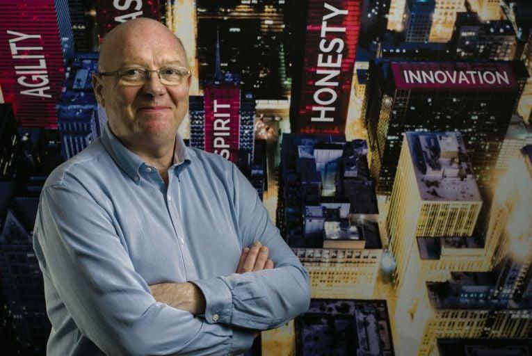 John McCabe, managing director, Damovo Global Services & Ireland