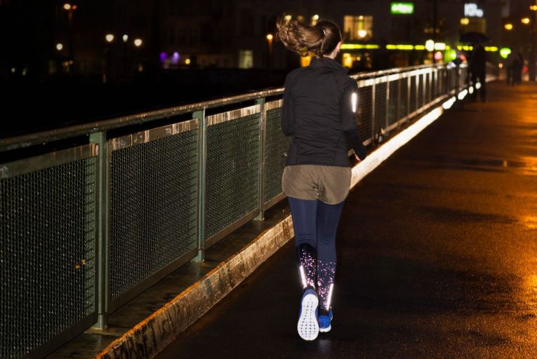 Many women don't feel safe running at night and self-impose curfews