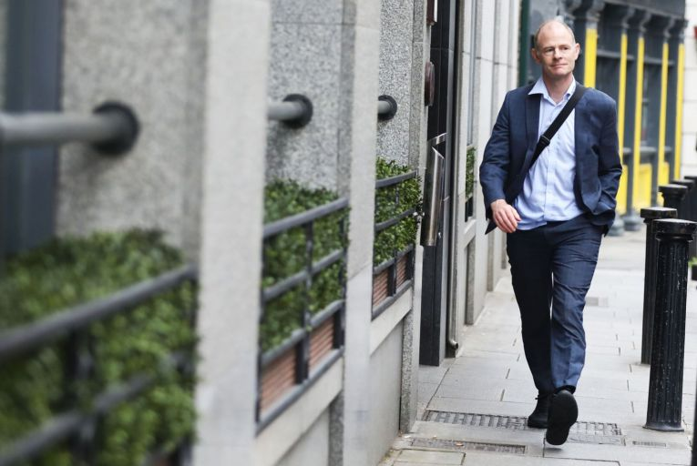 Ossian Smyth said the National Cyber Security Centre team is made up of 'highly skilled, specialist technical civilian staff'. Picture: Rollingnews.ie