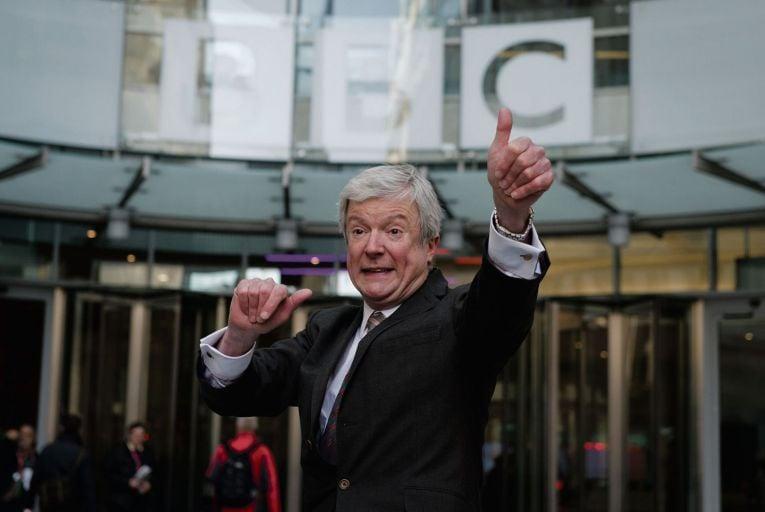 BBC director-general Tony Hall resigned suddenly last week
