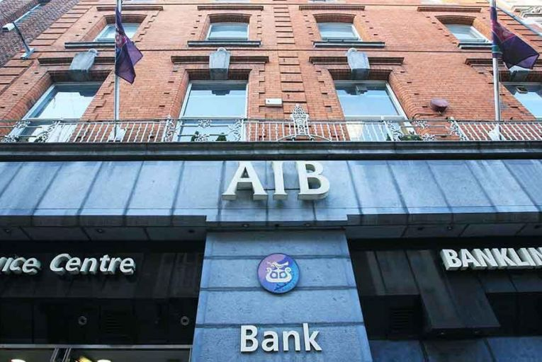 AIB hit with fine Pic: RollingNews.ie