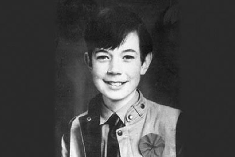 A schoolbag in a laneway was the  only trace found of Philip Cairns when he disappearance in 1986 Picture: Collins