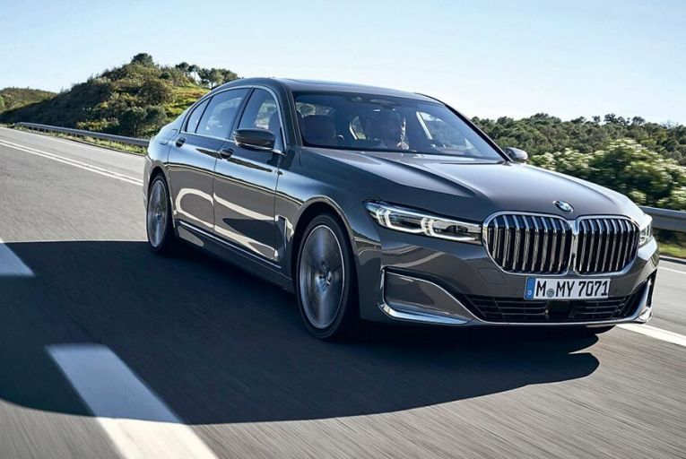 The BMW 7 Series now has more visual authority than before, all the better to obviously separate it from the 5 Series beneath it in the hierarchy