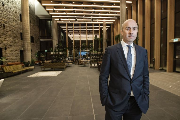 Interest in commercial property picks up but new lettings are still slow, Hibernia Reit says