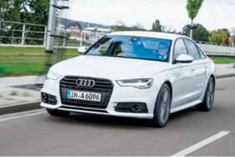 The new Audi A6: a devastatingly fast way to cross continents.