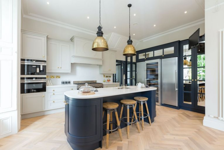 Blue kitchens are a timeless trend that we can expect to see a lot of in 2020