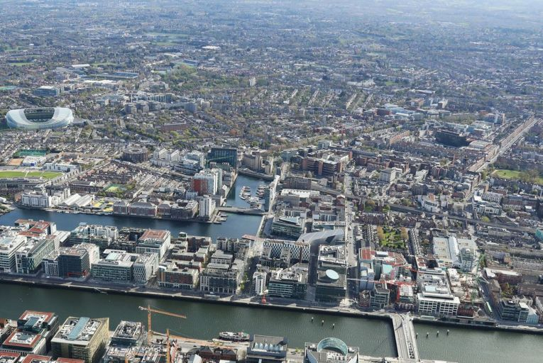 Dublin city continues to be challenged with the undersupply of urban living spaces. Picture: Tom Coakley