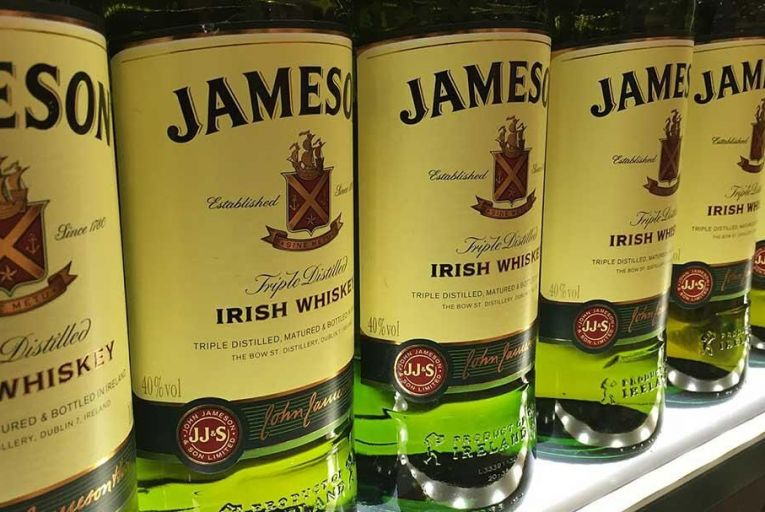 200 bottles of Irish whiskey are sold every minute Pic: Pixabay