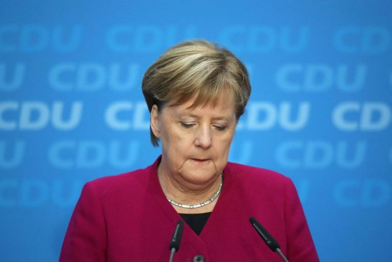 'Despite the huge media interest in US and UK elections, Merkel's departure and Germany's leadership contest probably has a more significant policy impact on these shores after Brexit.' Picture: Getty