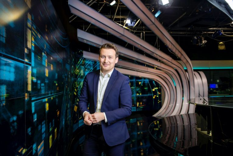 Richard Chambers, correspondent with Virgin Media News: 'All of this is so confusing. Trying to bring it down to its basics for people has been our number one objective.'  Photo: Marc O\'Sullivan