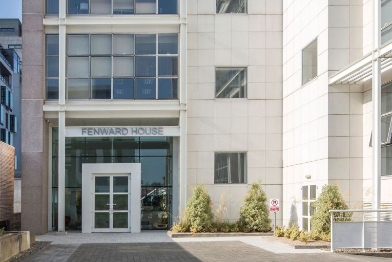 Fenward House in Sandyford, Co Dublin, which now offers office space to let