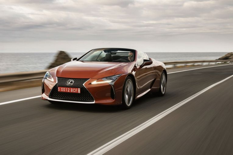 First drive: New Lexus convertible has traffic-stopping good looks and the dynamics to match