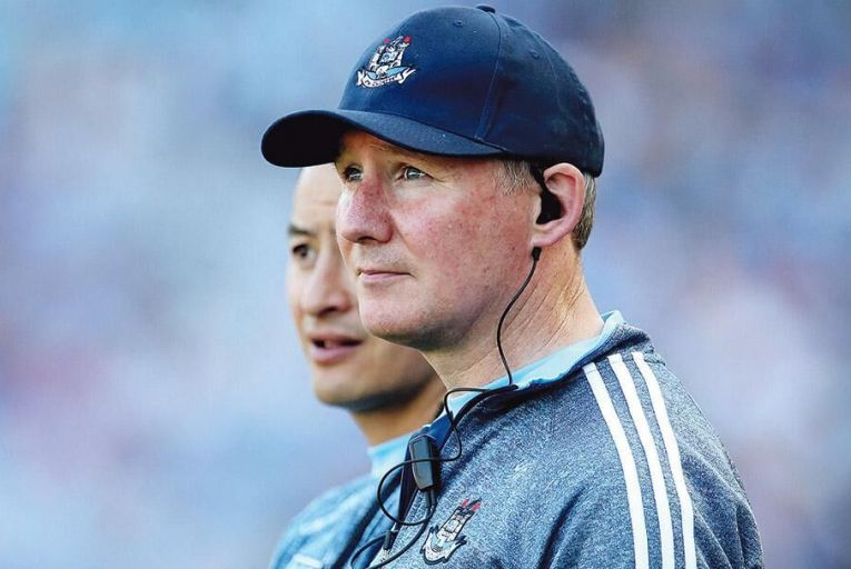 Jim Gavin, Dublin manager: there can be little doubt about the outcome of Sunday's All-Ireland football final between Dublin and Tyrone Pic: INPHO