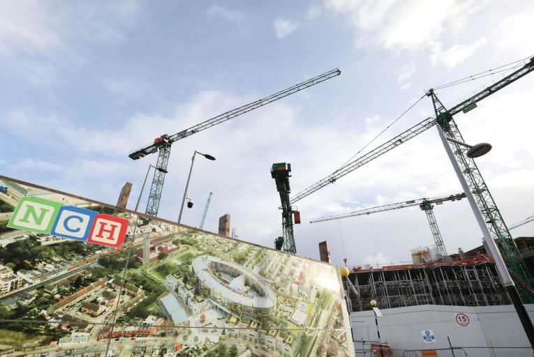 David Gunning, the chief executive of the hospital's development board, told the PAC in February that the €1.7 billion project may not open until 2024. Picture: RollingNews.ie