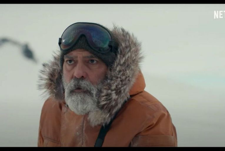George Clooney directs himself in The Midnight Sky