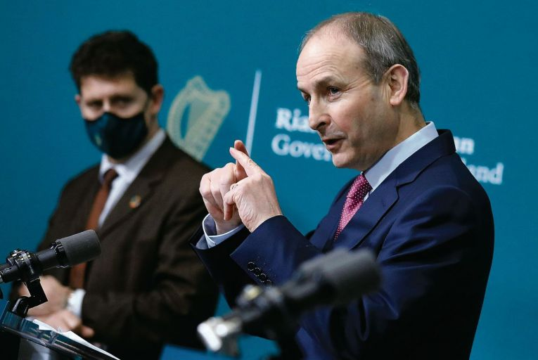 The latest Red C online poll of 1,000 voters captured last week's announcement of the five week extension to the lockdown by Micheál Martin, the Taoiseach, as it was carried out between Thursday, January 21 and Thursday, January 28.