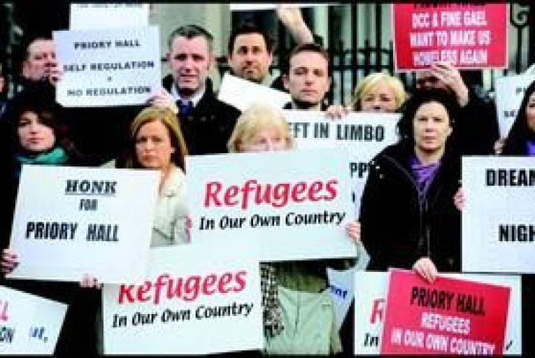 Priory Hall residents owe €15,000 more each to banks