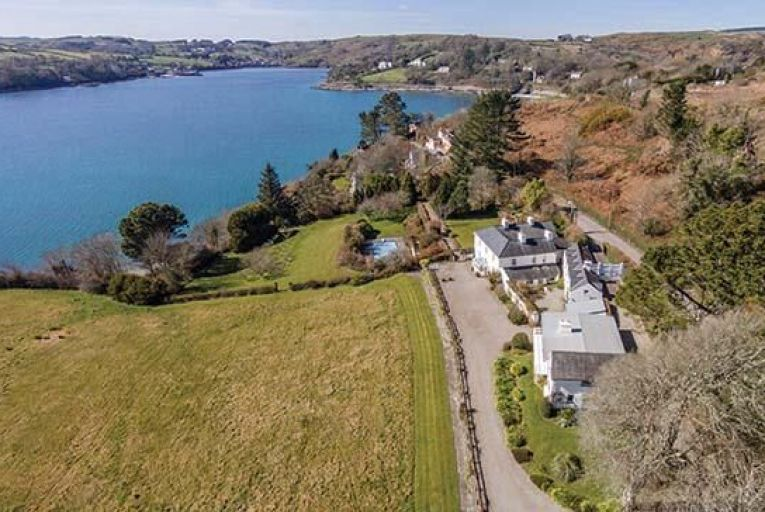 Shorecliffe House in Glandore, Co Cork: the residence enjoys superb views of the harbour