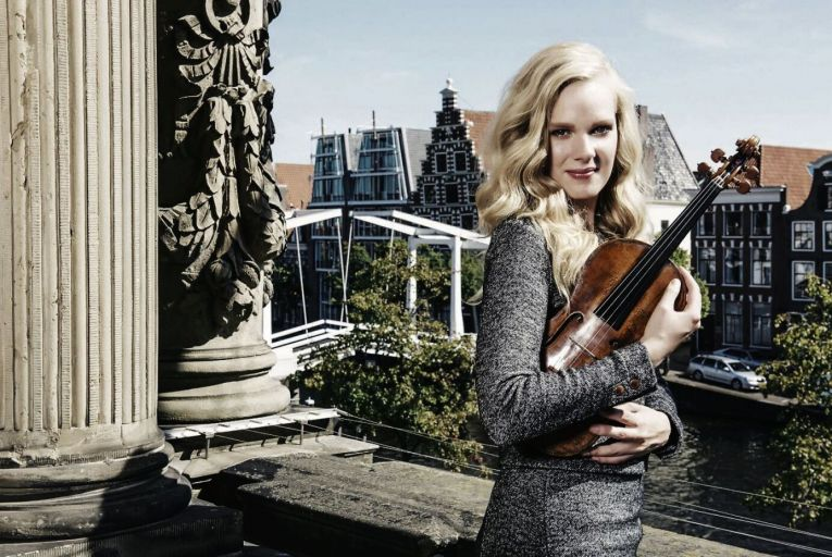 Simone Lamsma: the Dutch solo violinist will perform with the RTÉ National Symphony Orchestra at the Helix on September 24. Picture: Otto van den Toorn