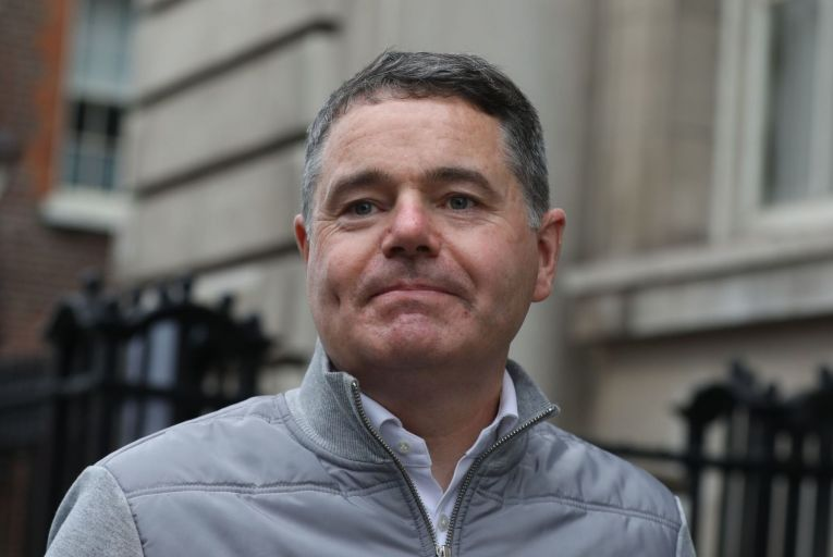 Paschal Donohoe, the Minister for Finance, hinted that the government will seek to introduce a dual corporate tax system, where SMEs continue to pay a corporate tax rate of 12.5 per cent. Picture: Rollingnews.ie