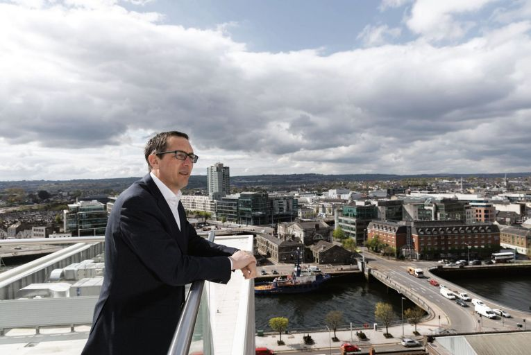 Conor Healy, chief executive of Cork Chamber: 'This is a proportionate funding allocation that will deliver for the state, aligned with the vision set out for Cork in Project Ireland 2040 as Ireland's fastest growing city region.' Picture: Darragh Kane