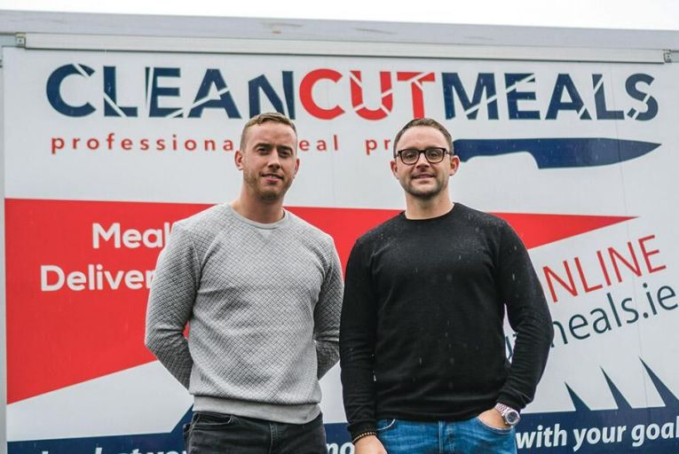 Conor McCallion and Michael Dyer, Clean Cut Meals co-founders