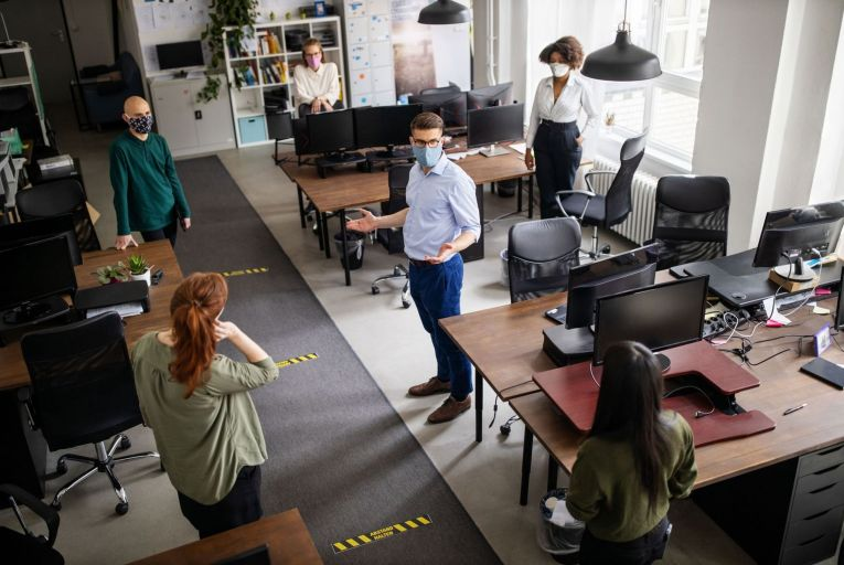 Office life has changed forever – now it's time to adapt and adjust