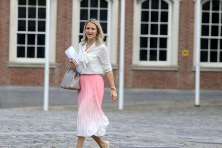 Helen McEntee, the Minister for Justice, will become a minister without portfolio for six months while Heather Humphreys, Hildegarde Naughton and James Browne will share her duties. Picture: Rollingnews.ie