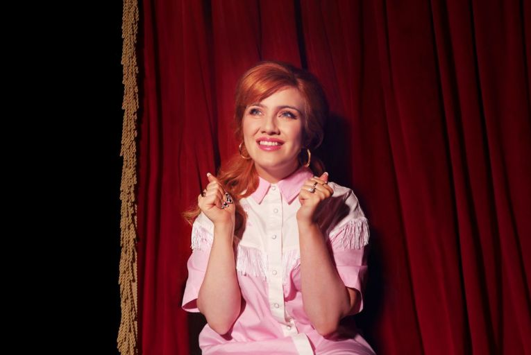 Ciara Marie Alice Thompson, or CMAT: 'Cowboys, KFC: all of these references are tools that I use to bring the circus to town.' Photo: Sarah Doyle