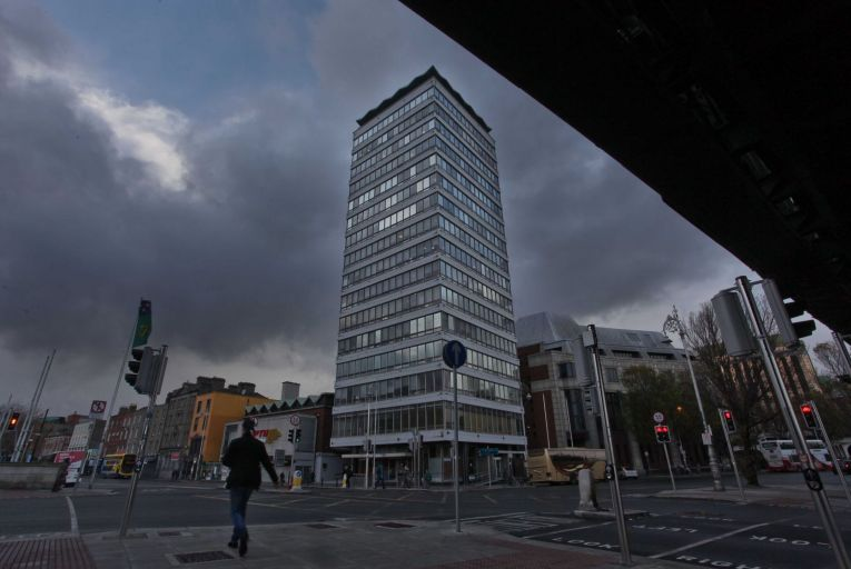 Liberty Hall becomes more than a physical space in Micheal O'Loughlin's book. Picture: Feargal Ward