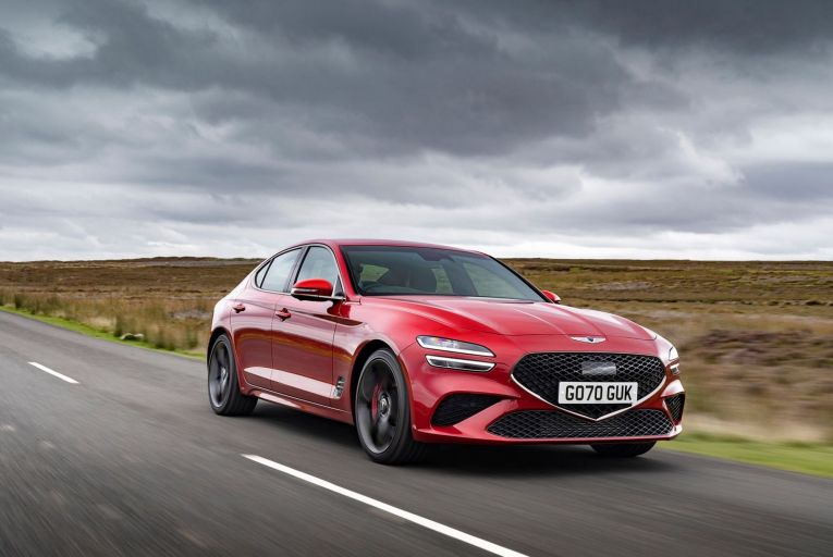 The G70 from Genesis, the luxury brand that seemingly wants to do it all – but not in Ireland