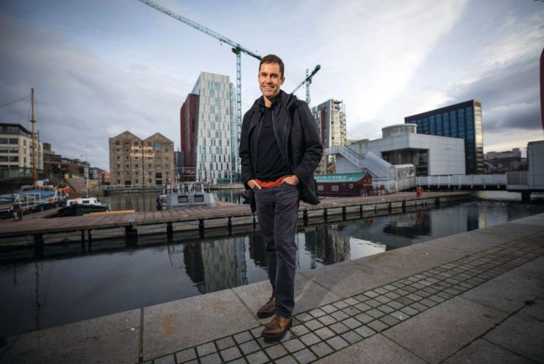 Nick Leeder, head of Google Ireland: 'What I didn't understand until I got into this job was how important Ireland is in shaping Google across the region.' Picture: Fergal Philips