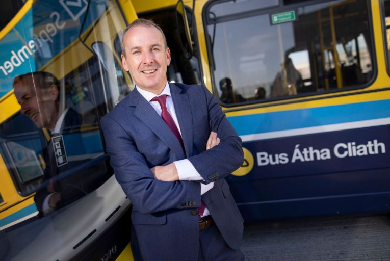 Ray Coyne, chief executive of Dublin Bus: 'We want to look at the full public transport ecosystem. We want to lead the way for better mobility solutions for everyone. It\'s not just bus solutions. That means e-scooters and demand-responsive transport.' Picture: Fergal Phillips