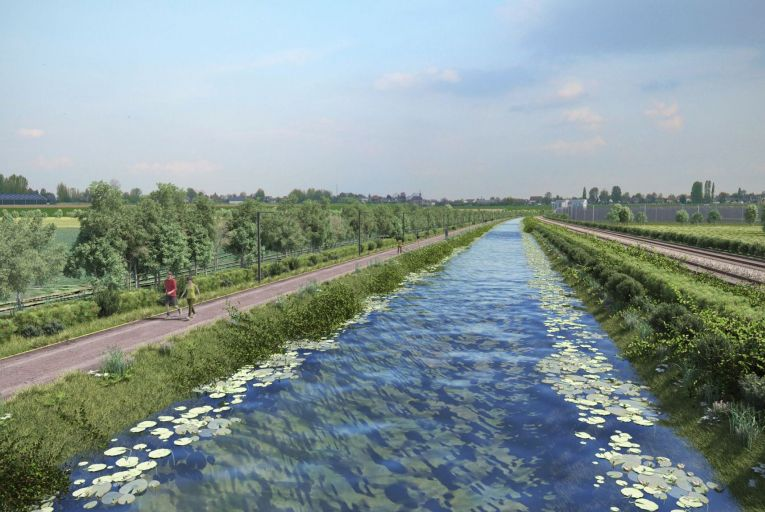 The plan to build an 8km section of the greenway alongside the Royal Canal has been held up for two years because some residents do not want a 1km section of the route to run along their back gardens on the north side of the canal