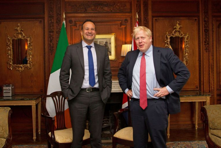 Leo Varadkar and Boris Johnson may be very unalike as political leaders, but they both know what it's like to try to govern without a majority (Pic: PA Wire)