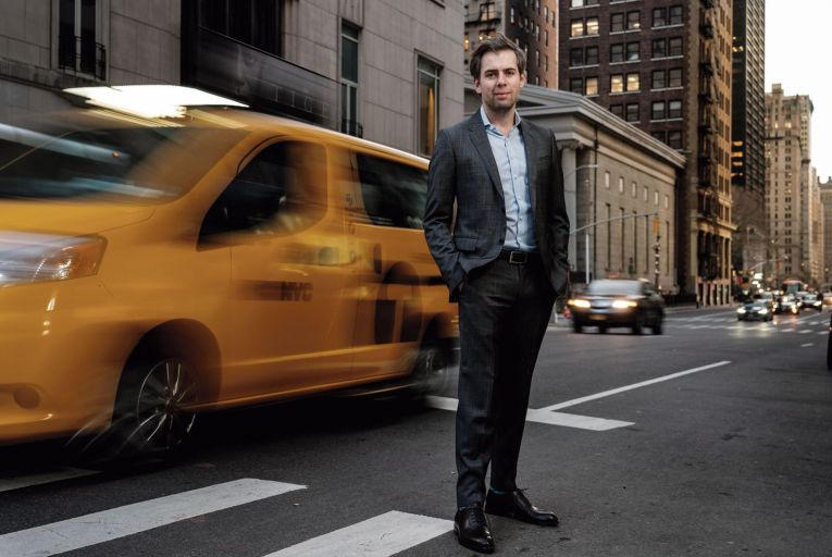 Oisín Hanrahan, the ANGI ceo, in New York. Picture: Corey Sipkin