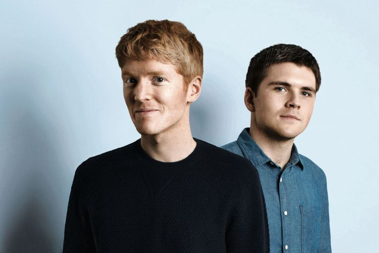 Patrick and John Collison, founders of Stripe who have started the ball rolling on a public listing for Stripe that could value the company at close to $200 billion. Picture: Pamela Littky/CPi Syndicationl