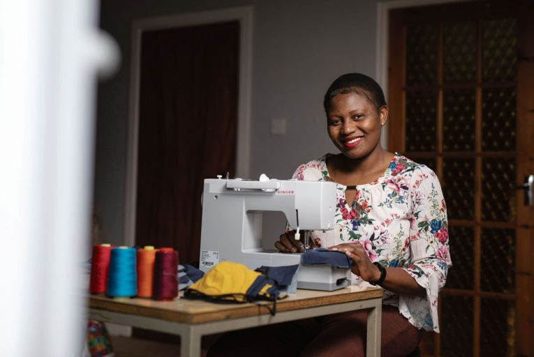 Solidarity through sewing: craftspeople turn their hands to masks and scrubs
