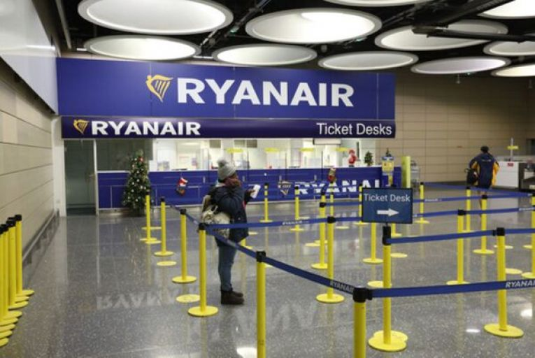 The drop in the value of Ryanair's shares is part of a wider trend in airline stocks, with fears that new variants of Covid-19 might require even tougher restrictions. Picture: Rollingnews.ie