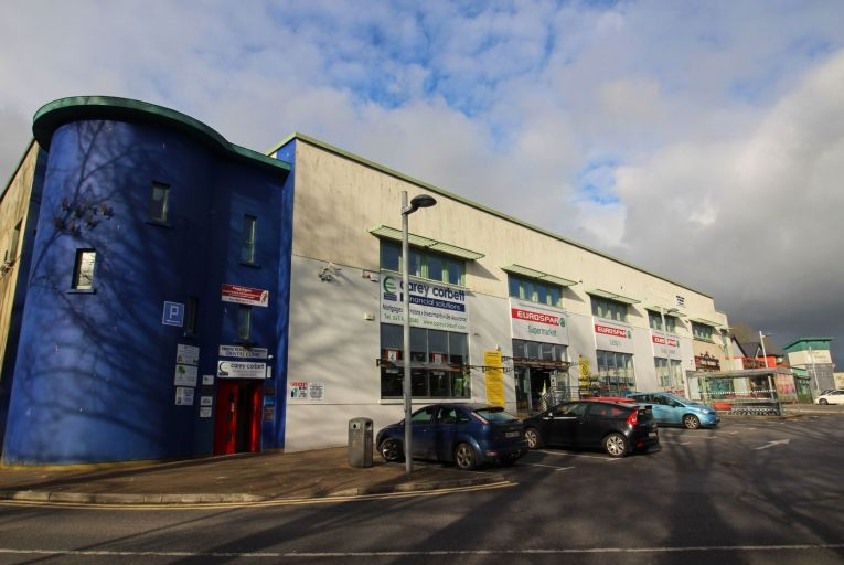 Two units at the Roslevan Shopping Centre in Ennis, Co Clare, both met their reserves, selling for €130,000 and €100,000 respectively