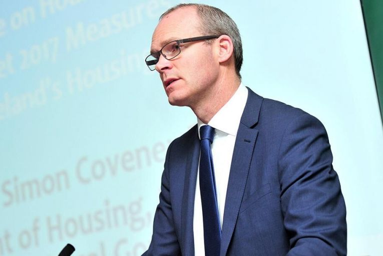 Simon Coveney TD, Minister for Housing, Planning and Local Government