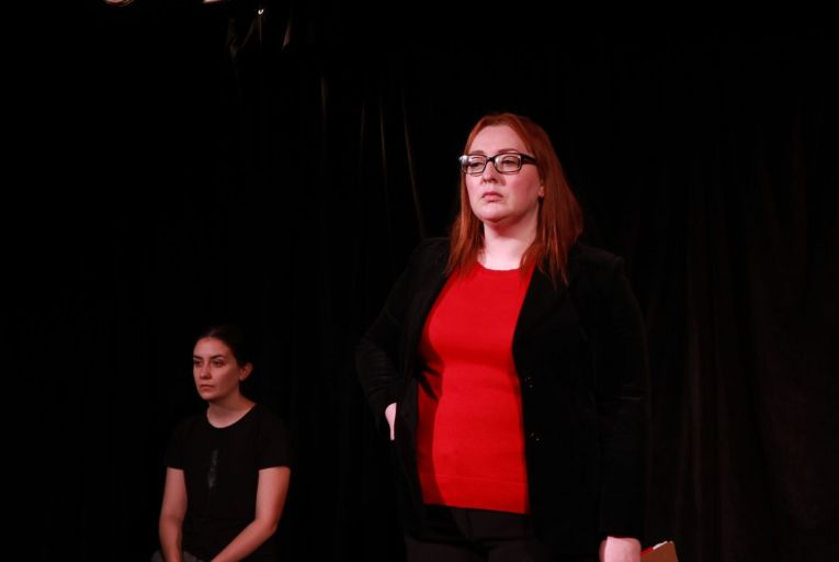 Edel Murphy and Jennifer Laverty in The Greatest Story Ever Cast at Reboot Live