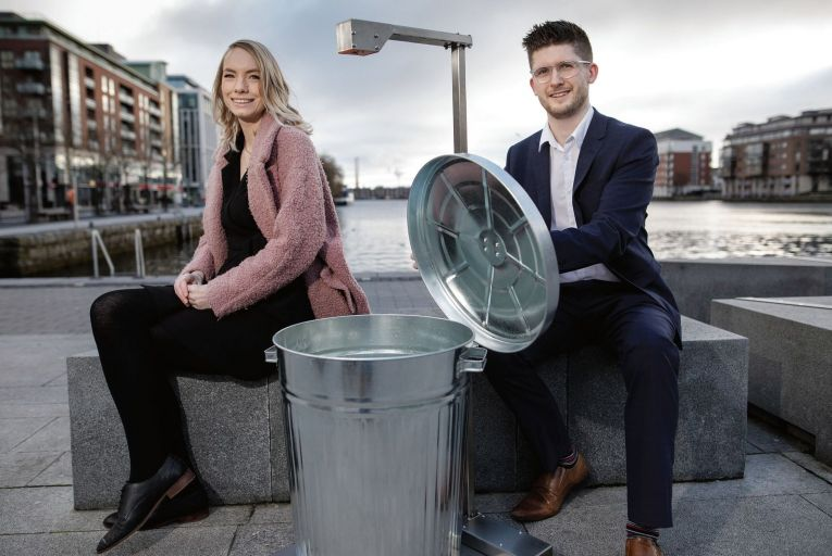 Mark and Aisling Kirwan set up Positive Carbon in early 2020 to develop technology that would help to cut down on food waste. Picture: Fergal Phillips