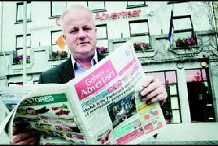 Peter Timmins, managing director of the Advertiser Newspaper Group. Photo: Aengus McMahon