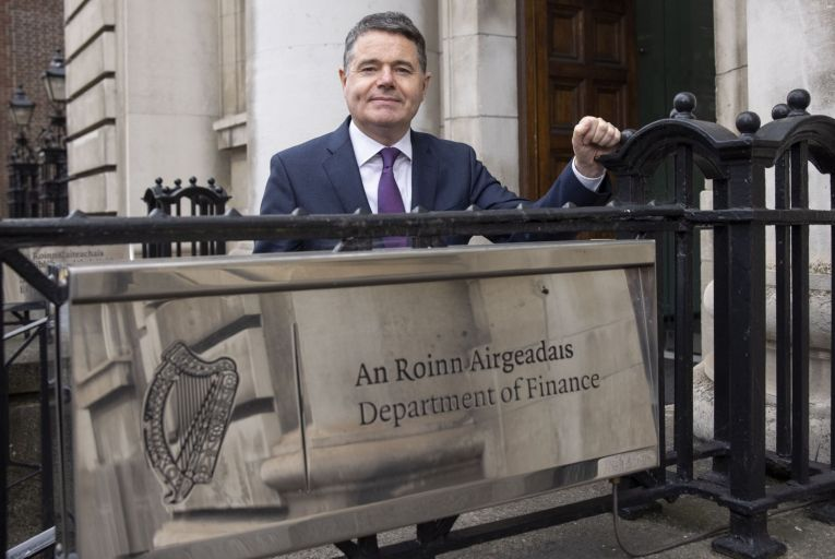 Paschal Donohoe, Minister for Finance, is introducing legislation in the Dáil this week to impose a 30 per cent penalty on developers who significantly undervalue their land. Picture: Fergal Phillips