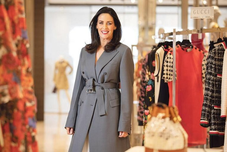 Shelly Corkery, fashion director of the Brown Thomas group Pic: Fergal Phillips