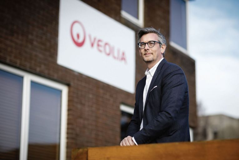 Joe Higgins of Veolia at the companies office in Kilkenny. Picture Dylan Vaughan