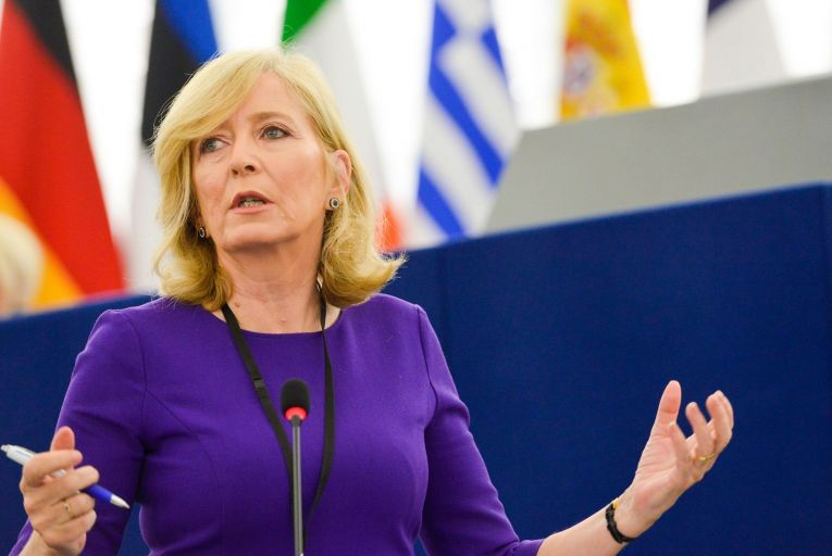 Emily O'Reilly, the European Ombudsman, believes lobbying has has now grown from a cottage industry into a 'palace industry'. Picture: Genevieve Engel